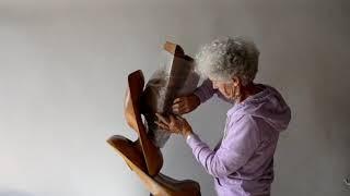 52 - Essor, un désir de croissance, sculpture en chêne