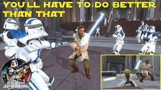 Star Wars Battlefront 2 Mods ᴴᴰ: Obi-Wan Kenobi & Yoda vs 501st (Jedi Downfall, Order 66, Coruscant)