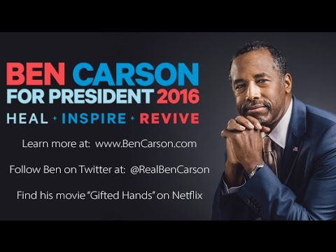 Dr. Ben Carson 2016 An Introduction
