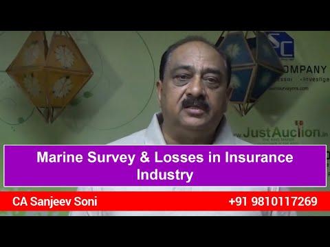 Marine Survey & Losses in Insurance Industry by CA Sanjeev Soni
