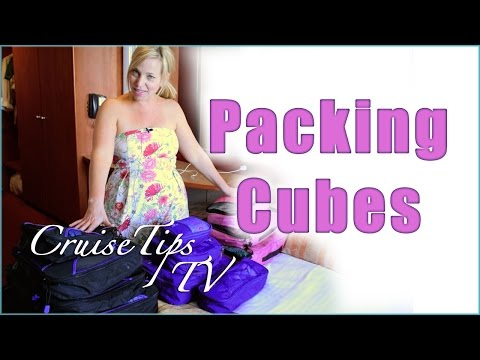 Packing Tips - Packing Cubes - Cruise Tips TV