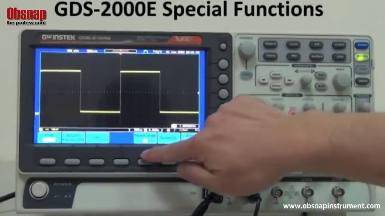 an introduction to the functions of oscilloscope Digital electronics course introduction and materials  they can perform functions that require acting on  a good introduction to using the oscilloscope is on.