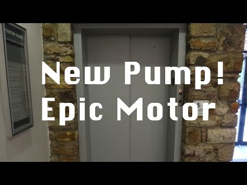 The Imperial Elevator at Fountain Square has a new pump now