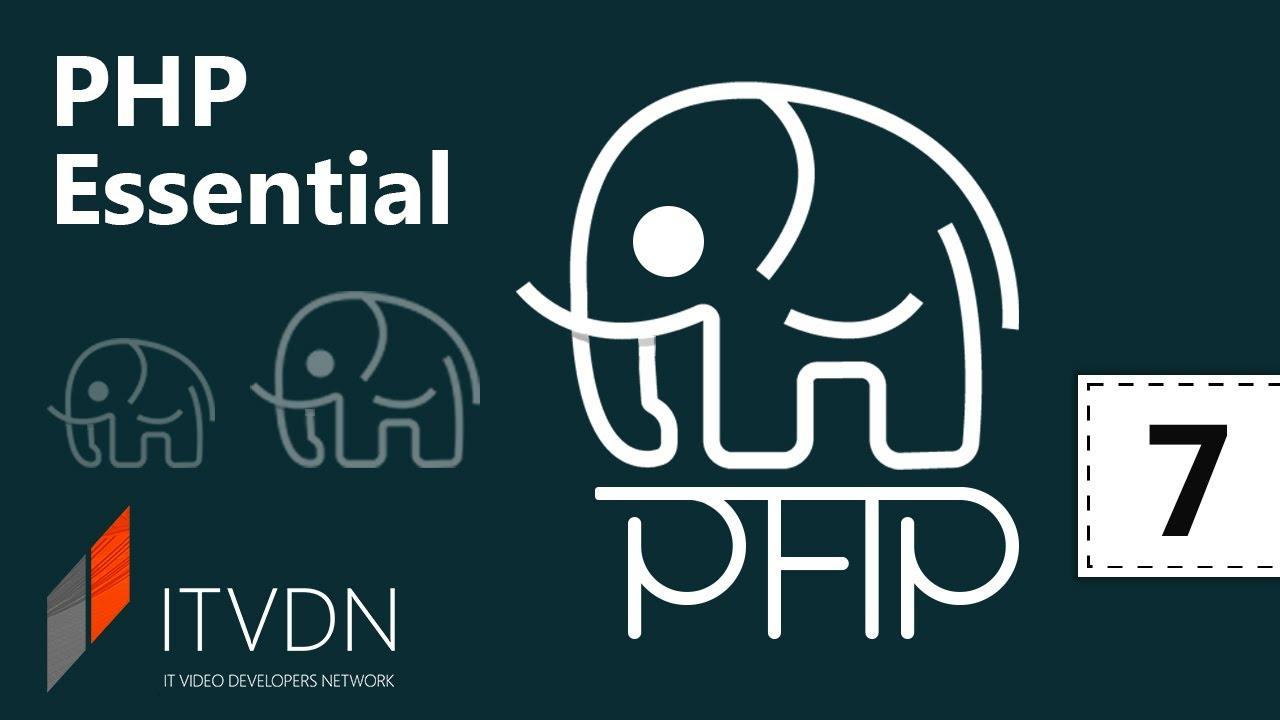 PHP Essential. Урок 7. Абстрактный класc и интерфейс.