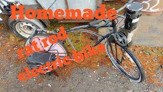 Homemade electric bike version 2 (rat rod)
