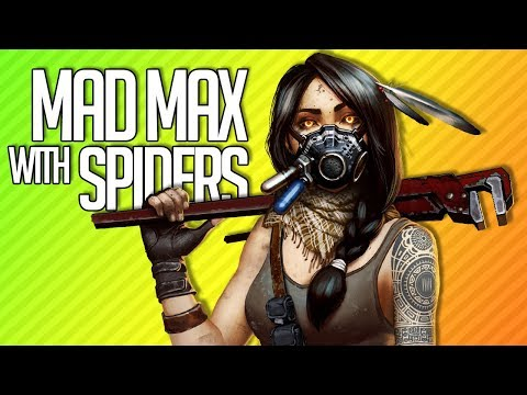 MAD MAX WITH SPIDERS | Crossout