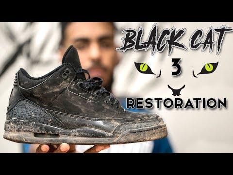 a2b02e7eed45 Flipboard  Restorations with Vick - Air Jordan Black Cat 3 Restoration