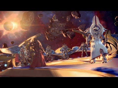 Templar's Charge: Karax Destroys Hybrid Breeding Facility in Celestial Array (Starcraft 2 | Protoss)
