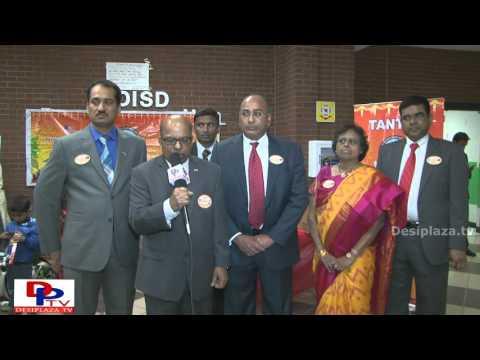 Subramanyam Jonnalagadda, President, TANTEX speaking to DPTV at Sankranthi Sambaralu 2016