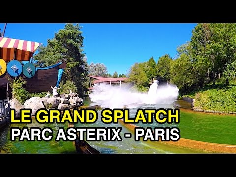 Le Grand Splatch - Group Water Slide : Parc Asterix (Paris, France)