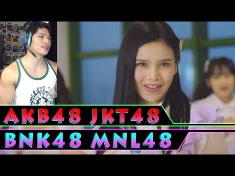 AKB48 | JKT48 | BNK48 | MNL48 - Kimi Wa Melody - RandomPHDude Reaction