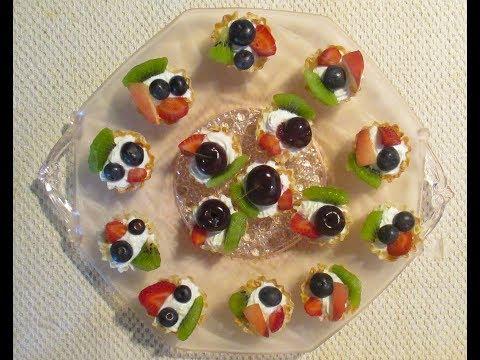 Fresh Fruit Tart With Greek Yogurt