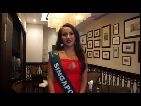 Miss Singapore Earth 2016 Manuela Bruntraeger