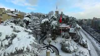 İzmit Havadan Kar Manzarası