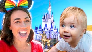 MY BABY'S FIRST DISNEYWORLD VACATION!