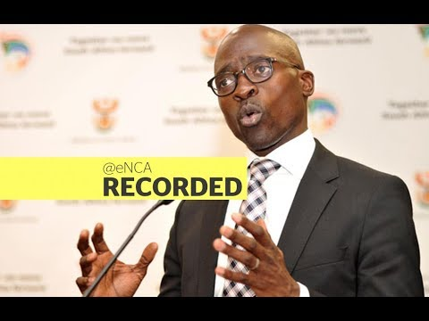 Minister of Home Affairs Malusi Gigaba announces new visa regulations
