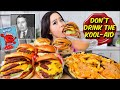CHEESIEST 4x4 IN N OUT ANIMAL STYLE BURGERS + FRIES MUKBANG 먹방 | Eating Show
