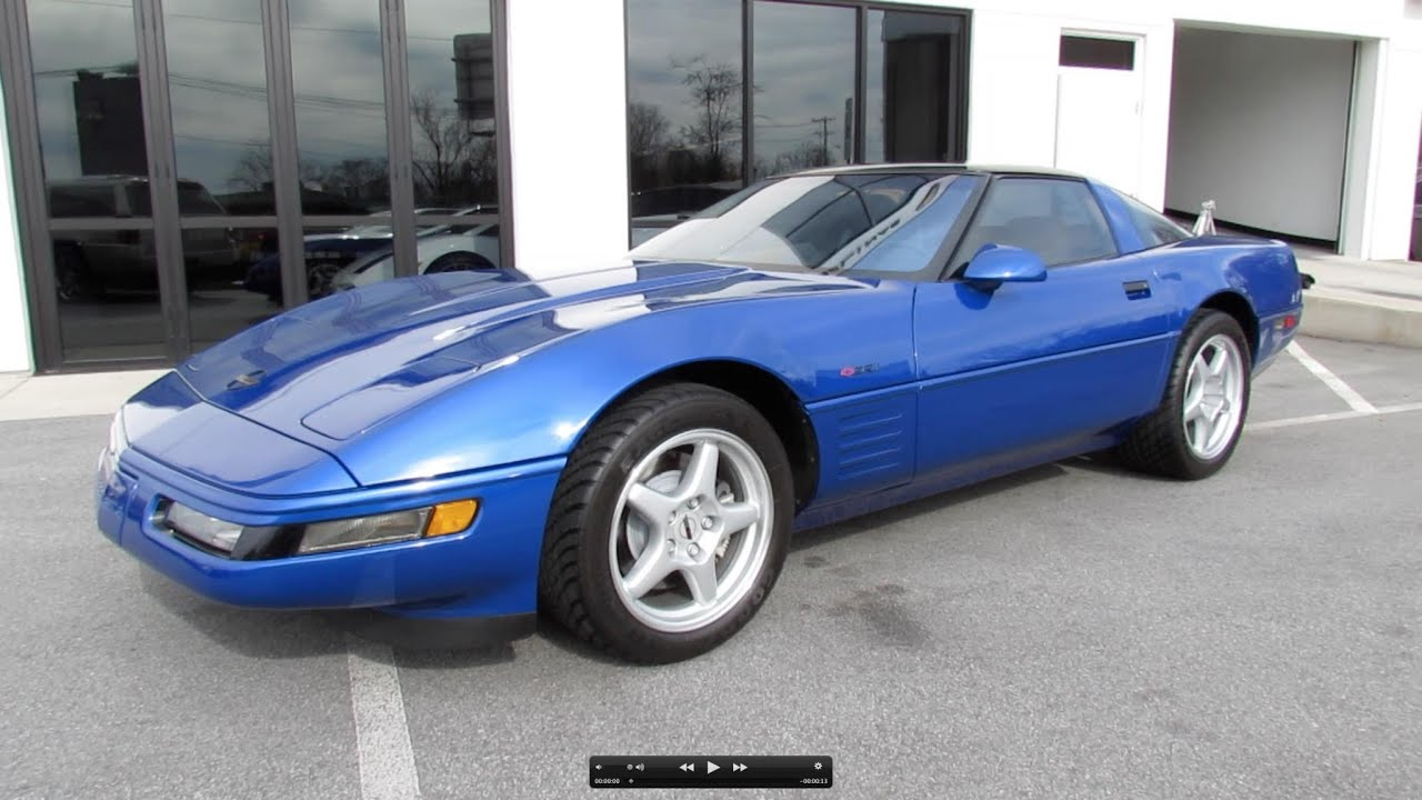 1994 chevrolet corvette zr 1 start up exhaust and in depth review youtube