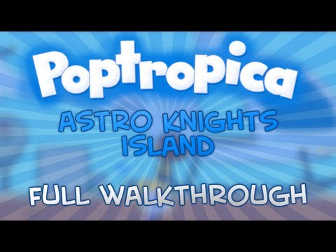 Poptropica - Astro Knights Island Full Walkthrough
