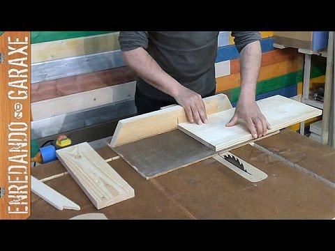 C mo cortar madera para un proyecto de carpinter a youtube for Cortar madera con radial