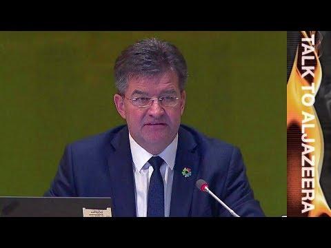 Miroslav Lajcak, UN General Assembly President   Talk to Al Jazeera