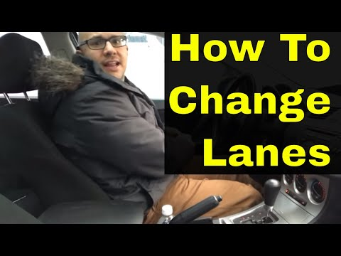 How To Change Lanes While DrivingBeginner Driving Lesson