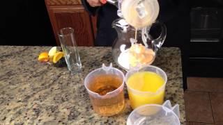 Creamsicle Milk Punch Recipe