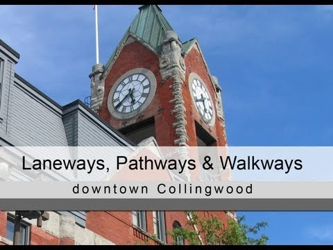 Laneways, Pathways & Walkways - Collingwood BIA