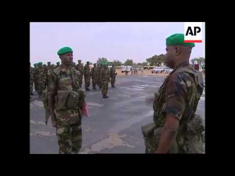 WRAP Forces leave Nigeria and arrive in Sudan