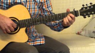 "145 ""Preaparing to Preach"" Fingerstyle for Guitar"