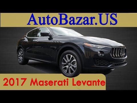 2017 Maserati Levante видео. Теcт Драйв Мазерати Леванте на русском. Авто из сша.