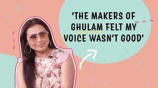 Rani Mukerji on Kabir Singh row, criticism over her voice, Ghulam & Karan Johar | Mardaani 2
