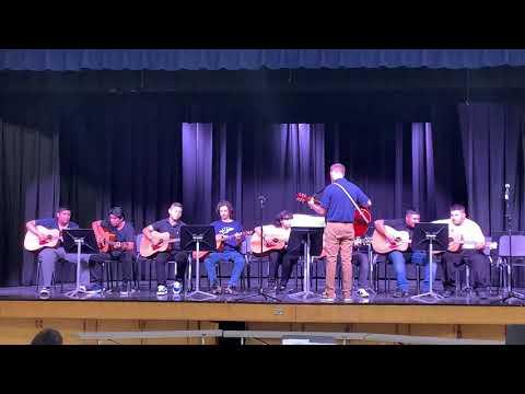 Ygnacio Valley High School Advanced Guitar 10/7/19