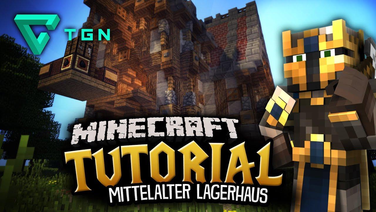 Minecraft Tutorial Mittelalter Lagerhaus Teil YouTube - Minecraft lagerhauser