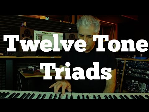 Twelve Tone Triads  How To Use Tone Rows In Your Soloing