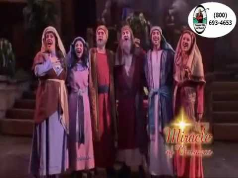 the miracle of christmas at sight sound theatres branson missouri