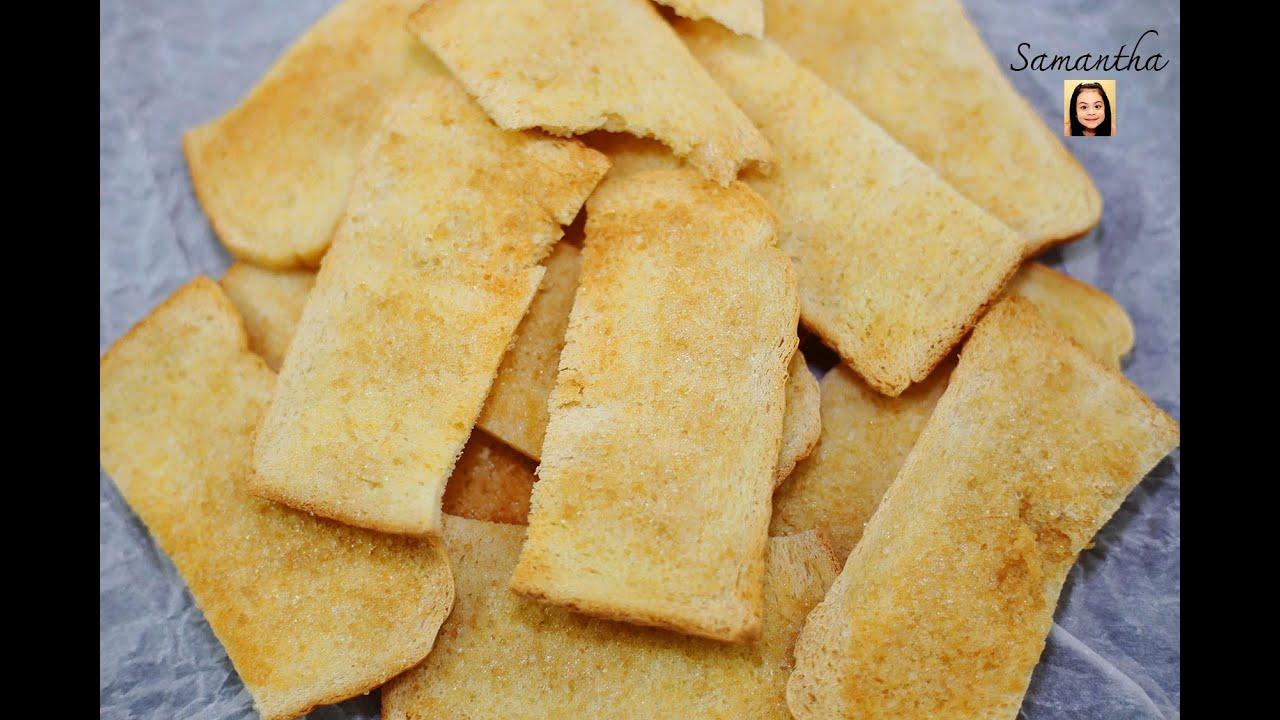 สูตรและวิธีทำขนมปังกรอบเนยสด ทำกินก็อร่อยทำขายก็รุ่ง - Thai Crispy Butter Bread