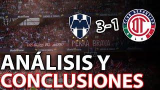 ANÁLISIS RAYADOS 3-1 TOLUCA FC #GUARD1ANES 2020 | UNA DERROTA ESPERADA Y ANUNCIADA