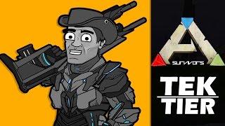 Ark Survival Evolved Cartoon - Tek Tier
