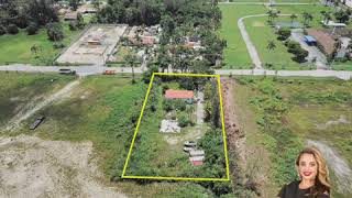 Rare 1 Acre Opportunity With Exposure From Golden Glades!