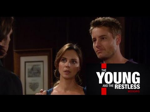 Y&R 4/30/15 - Adam and Sage Shocker