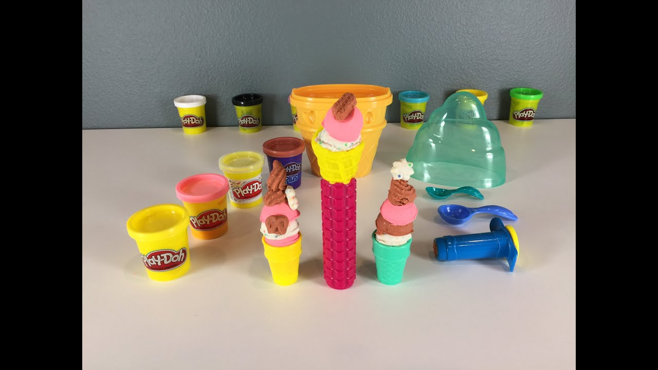 Ice Cream Maker Play Doh Youtube ~ Redfoal for