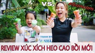 REVIEW XÚC XÍCH HEO CAO BỒI XỐT LẮC MỚI- SONG THƯ CHANNEL