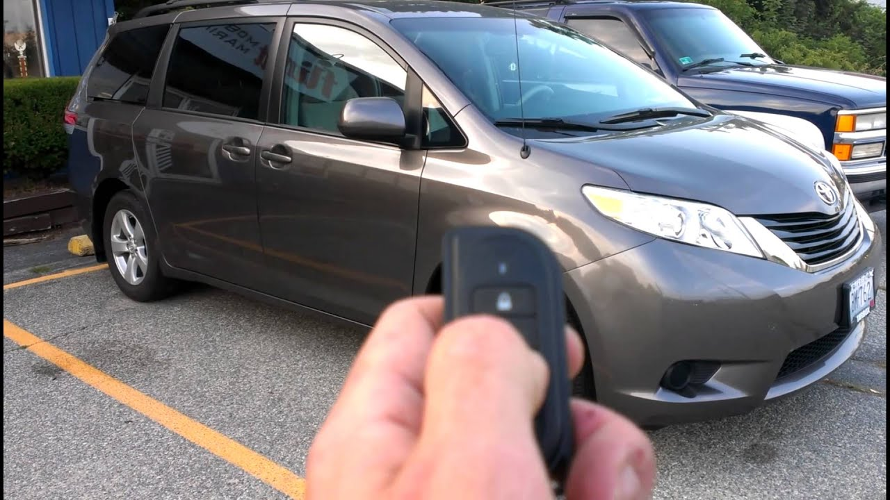 Toyota Sienna Service Manual: Starting system