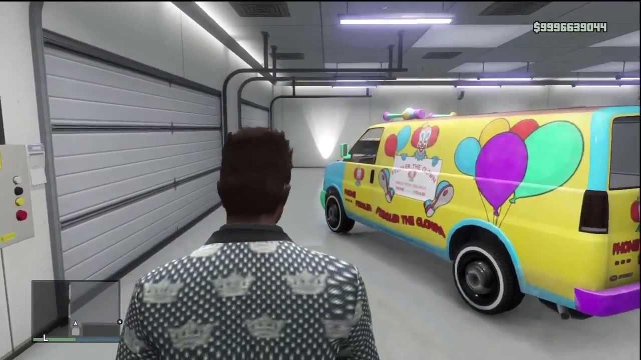 GTA 5 Online - Rarest Garage Ever! l Level 999 l 9 Billion ...