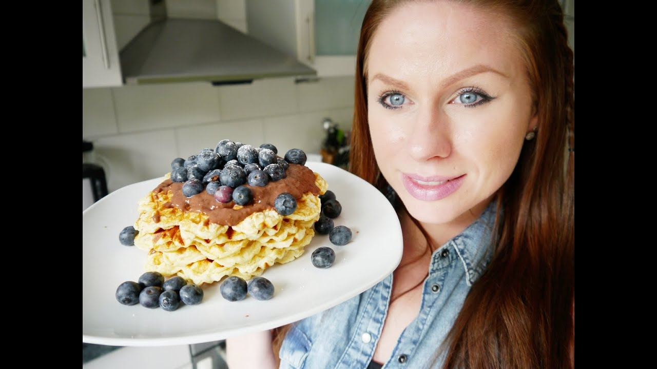 protein waffeln low carb fr hst ck youtube. Black Bedroom Furniture Sets. Home Design Ideas
