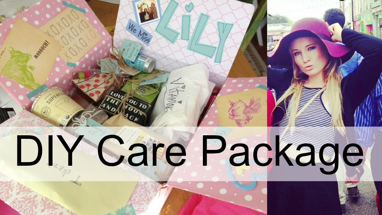care package ideas unboxing by michele baratta youtube