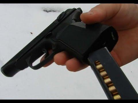 Стрельба из травматического пистолета макарова