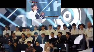 Download Video [Fancam] Idol EXO, SEVENTEEN reaction to Winner' Really Really @ MBC gayo Daejejeon MP3 3GP MP4