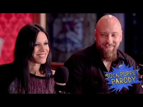 Lacuna Coil - Sock Puppet Interview 2016